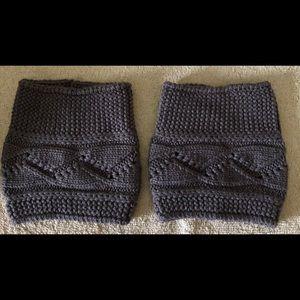 Accessories - Knit boot cuff